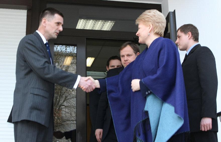 Dalia Grybauskaitė, Gediminas Grina