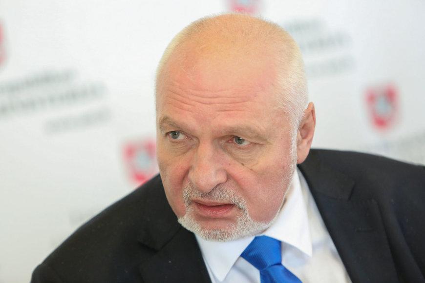 Aplinkos ministras Valentinas Mazuronis