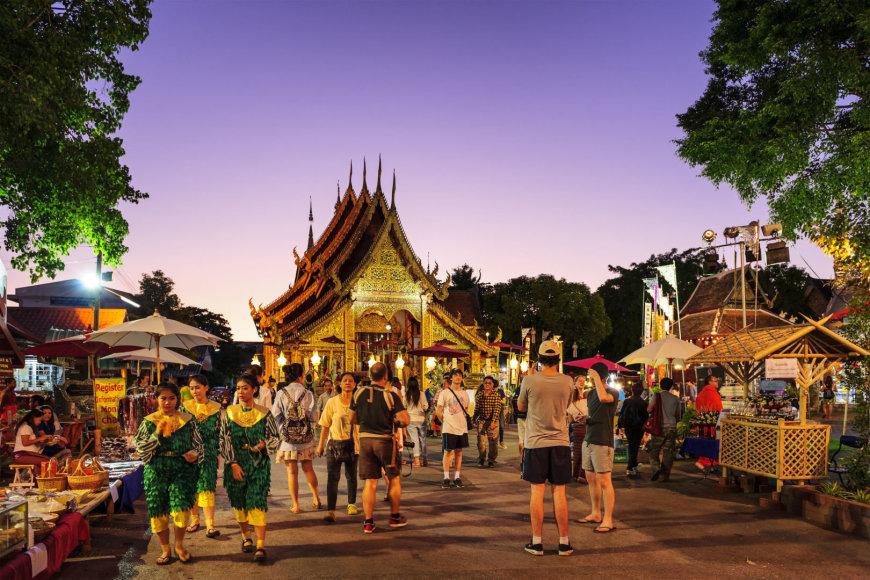 Turistai Tailande