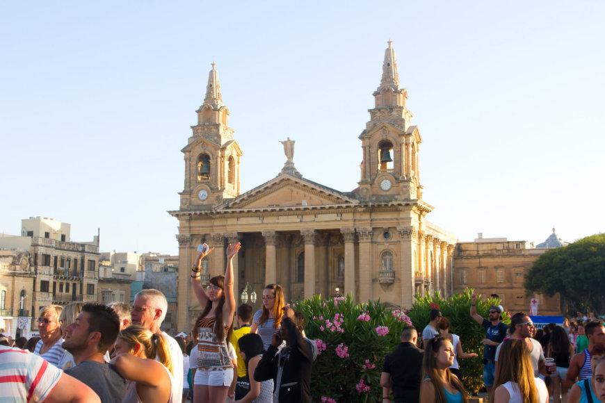 Maltiečiai moka linksmintis ir švęsti