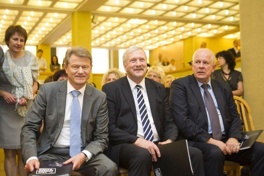 Rolandas Paksas, Bronis Ropė  ir Algirdas Saudargas