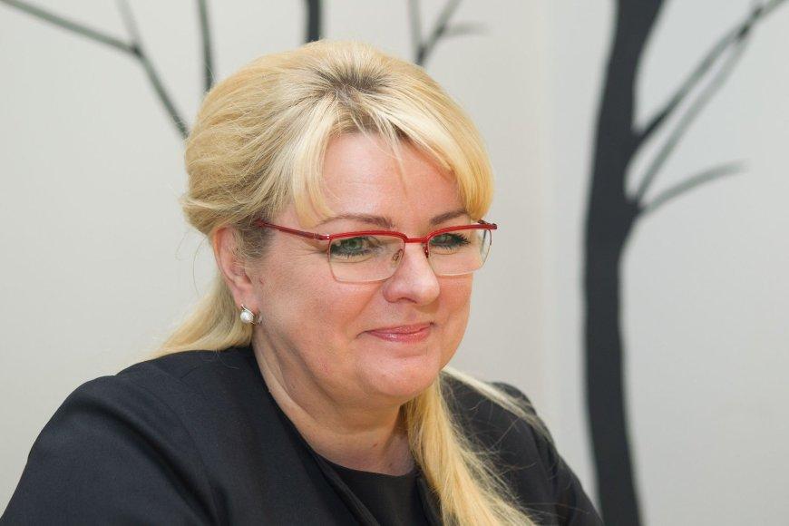 15min.lt vaizdo konferencijoje – ministrė Algimanta Pabedinskienė