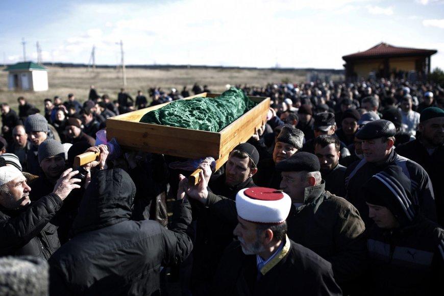 Rešato Ametovo laidotuvės