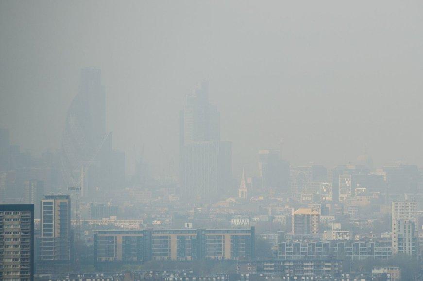 Smogas Londone