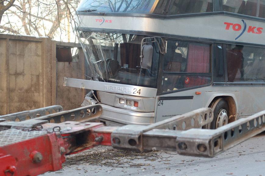 Autobuso avarija ties Mindaugo ir Punsko gatvių sankryža, Vilniuje