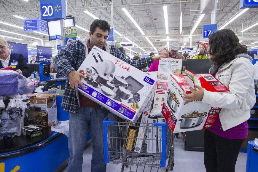 Juodojo penktadienio išpardavimas Jungtinėse Amerikos Valstijose