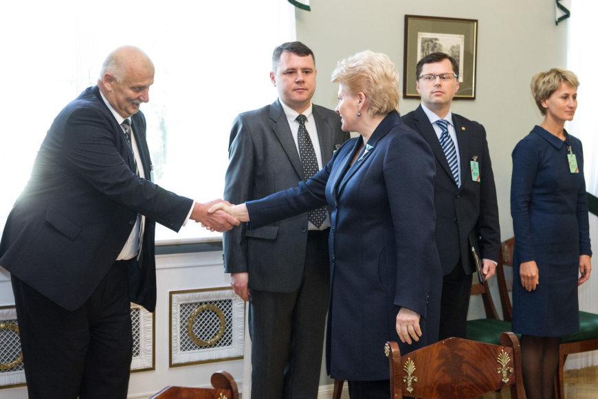 Prokurorų susitikimas su Dalia Grybauskaite