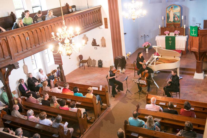 Koncertas Nidos bažnyčioje