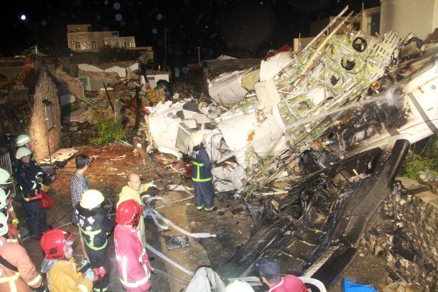 Taivano lėktuvo katastrofa