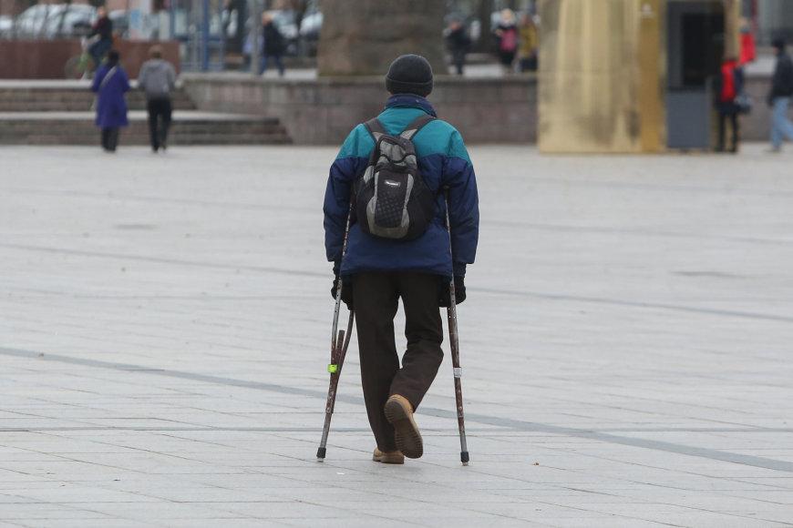 Žmogus su negalia