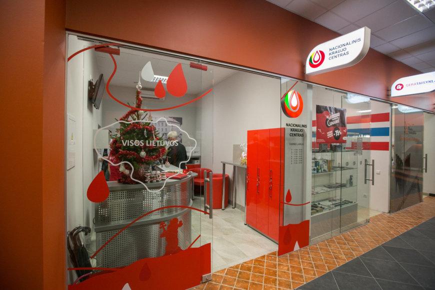 Nacionalinio kraujo centro filialo atidarymas