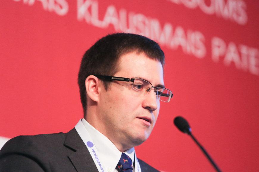 Naftogaz valdybos pirmininko pavaduotojas Segėjus Oleksijenko