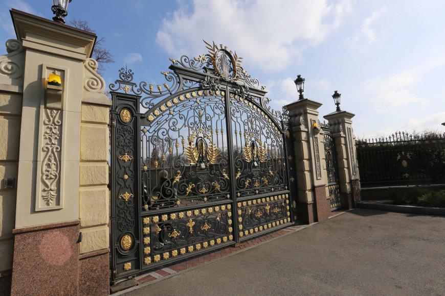 Ekskursija V.Janukovyčiaus viloje