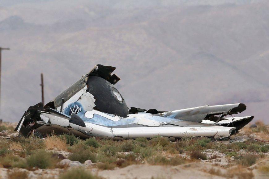 """""""SpaceShipTwo"""" sudužimas"""