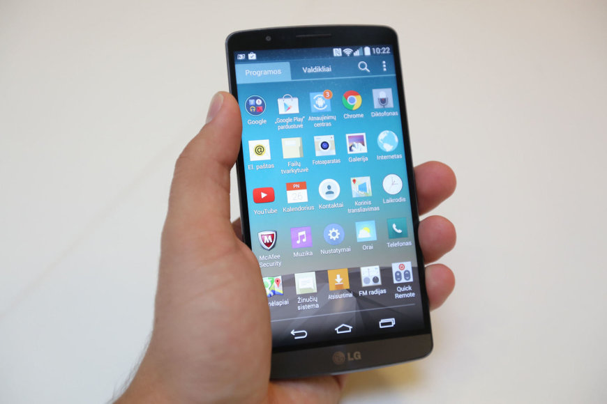 Išmanusis telefonas LG - G3