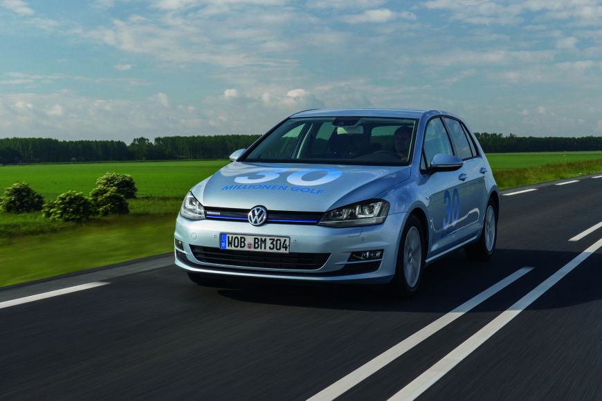 """Volkswagen Golf TDI BlueMotion"""