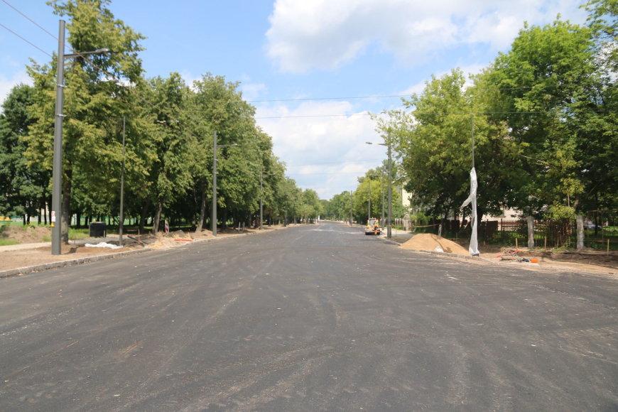 K. Petrausko gatve atnaujinamas eismas