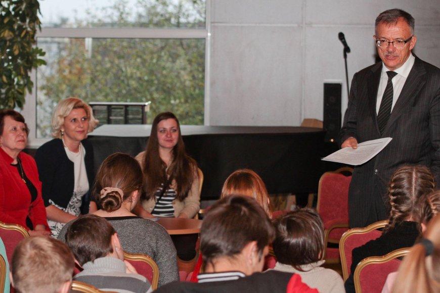 Grupė Ukrainos vaikų atostogaus Lietuvoje