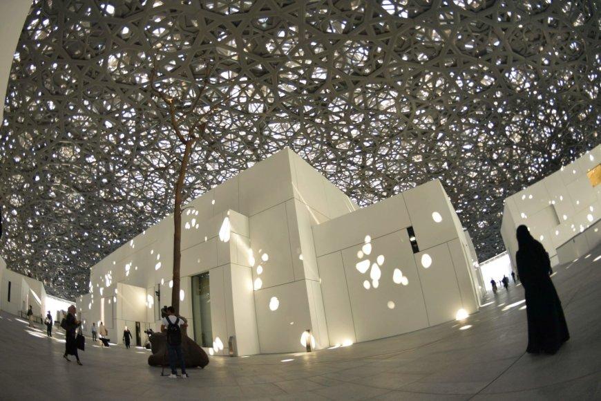 Luvro muziejus Abu Dabyje