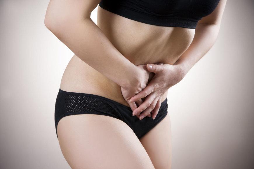 Endometriozė sukelia stiprius gimdos skausmus
