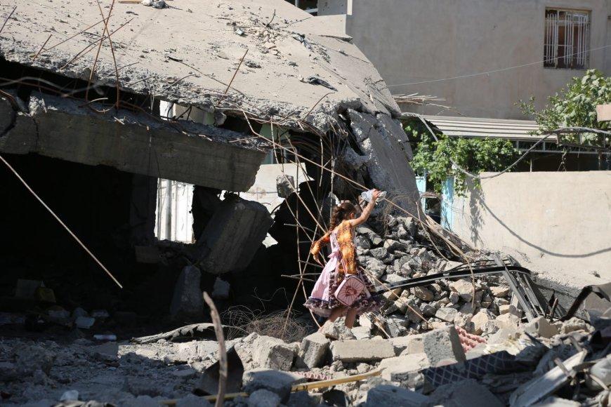 Mosulas po netikėtos IS atakos