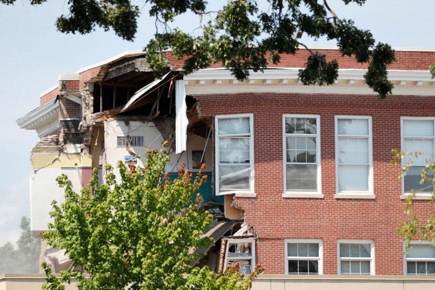 Mineapolio mokykla po sprogimo