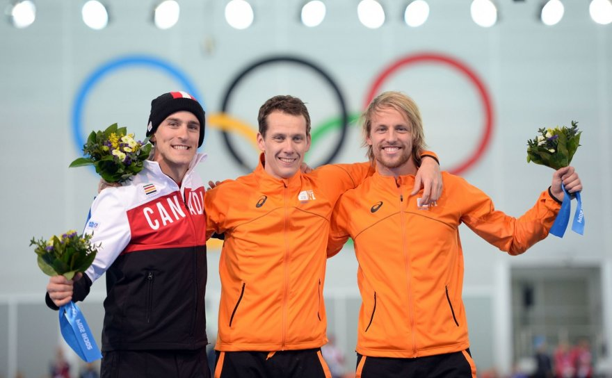 Iš kairės: Denny Morrisonas, Stefanas Groothuisas ir Michelis Mulderis.