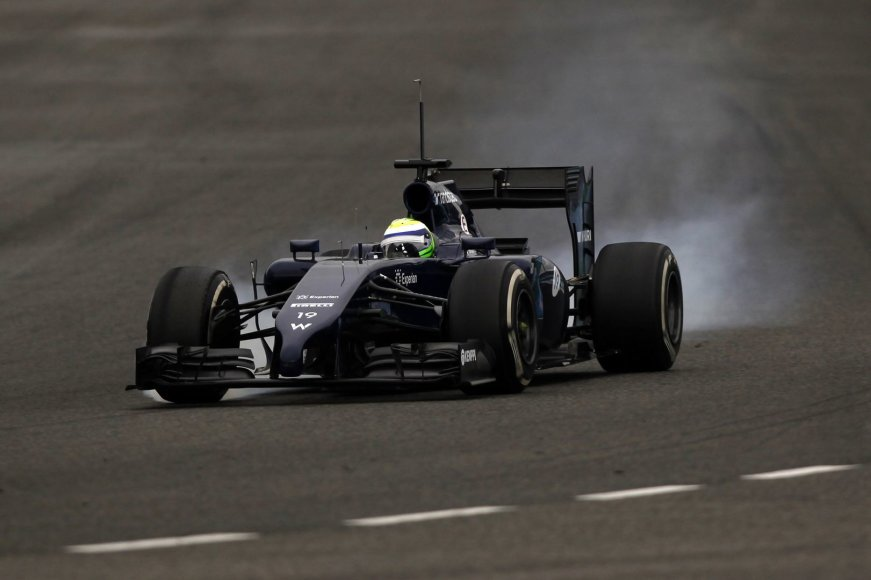 "Felipe Massa, ""Williams"""