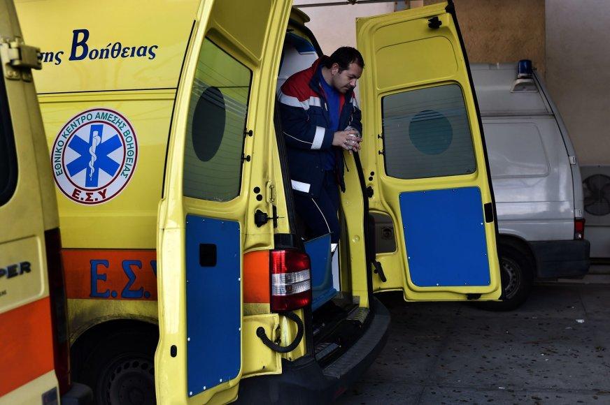 Graikijos greitosios pagalbos medikai