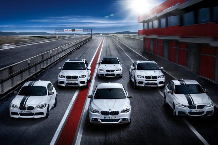 """""""BMW M Performance"""" įranga patobulinti automobiliai"""