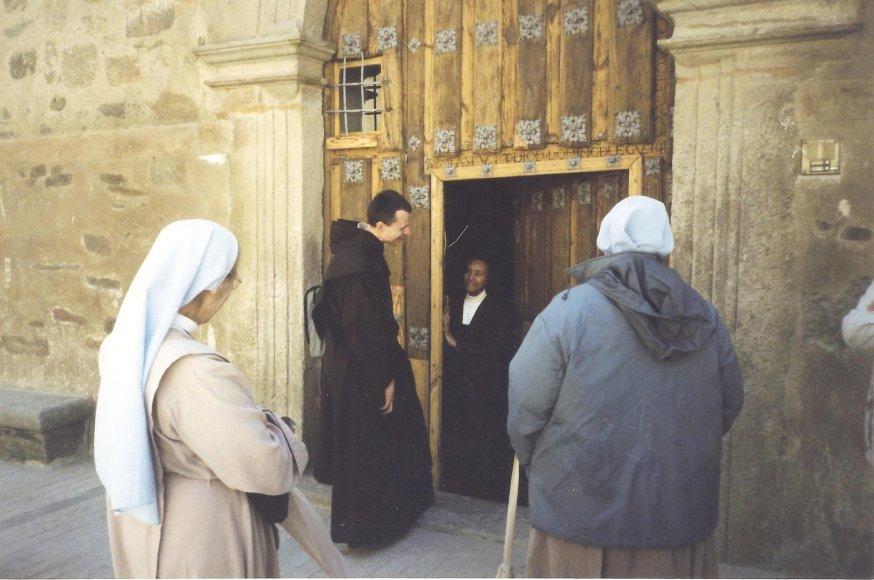 Atvykome pas vienuolius Ispanijoje