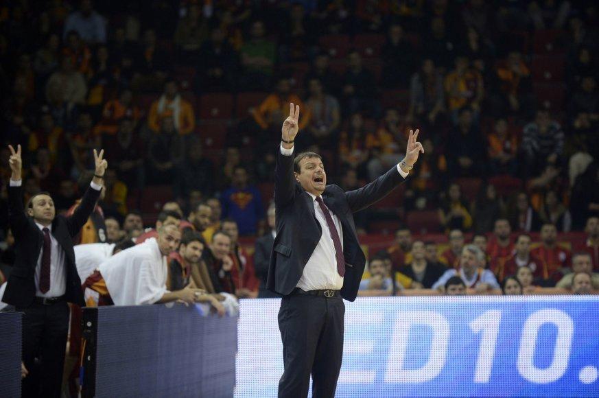 """""""Galatasaray"""" treneris Ergunas Atamanas"""