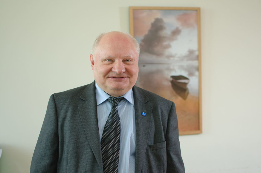 KTU prorektorius Pranas Žiliukas. KTU archyvo nuotr.