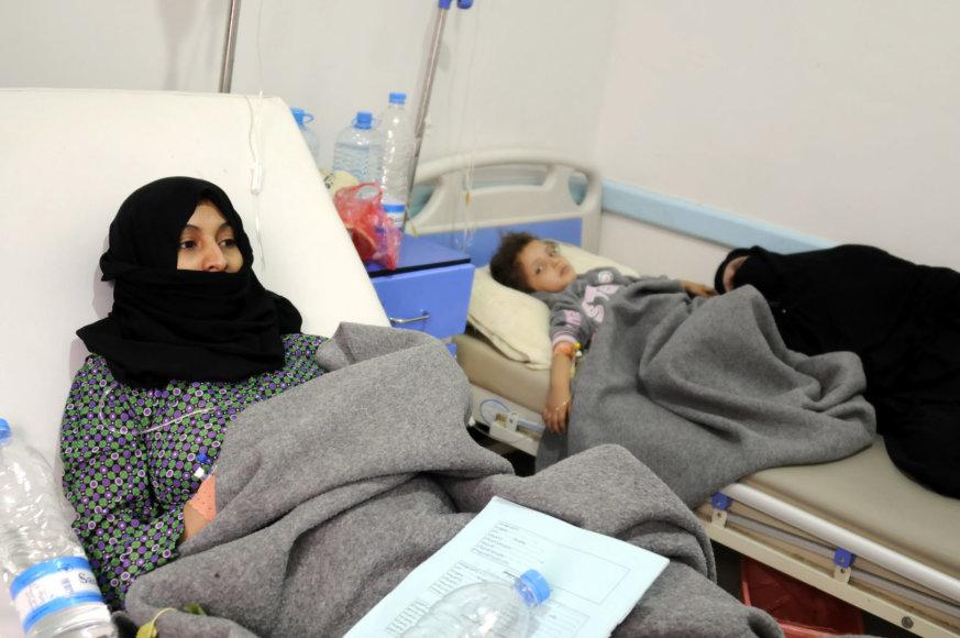 Cholera sergantys Jemeno gyventojai