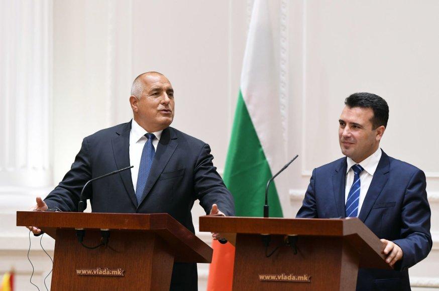 Boiko Borisovas ir Zoranas Zaevas