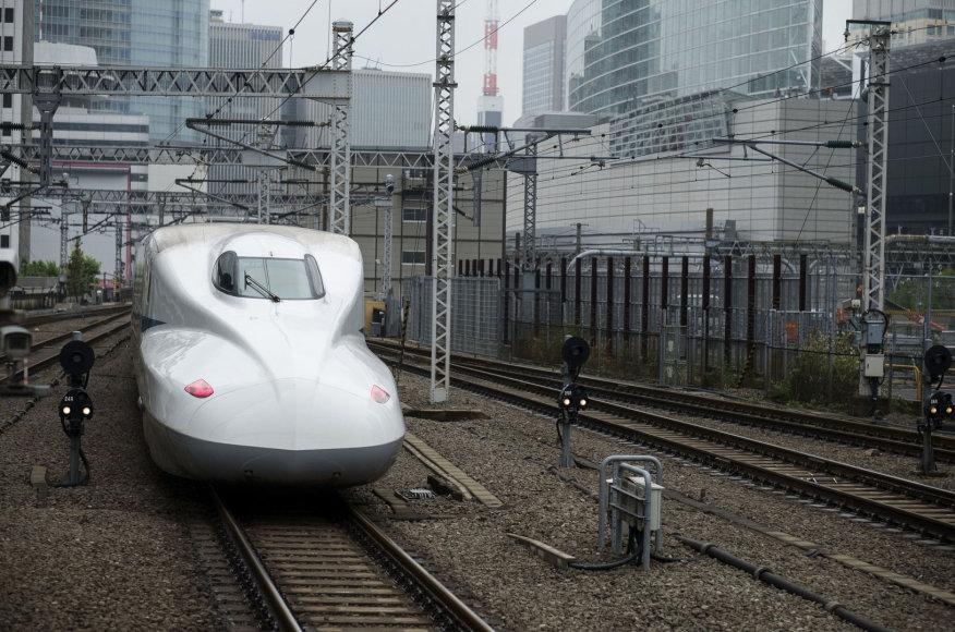 Tokijuje paminėtos grietųjų traukinių 50-osios metinės