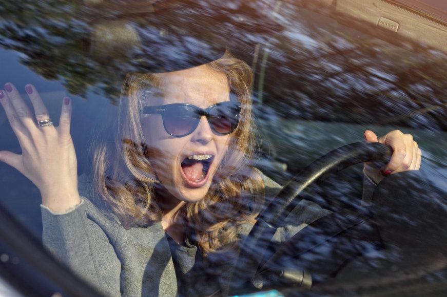 Vida Press nuotr./Moteris už vairo