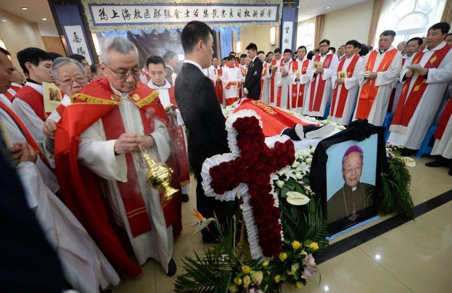 Atsisveikinimas su vyskupu Josephu Fan Zhongliangu