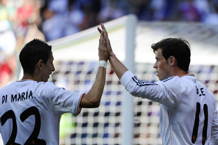 Angelis di Maria ir Garethas Bale'as