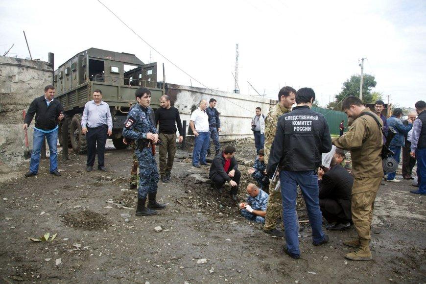 Čečėnijos policija