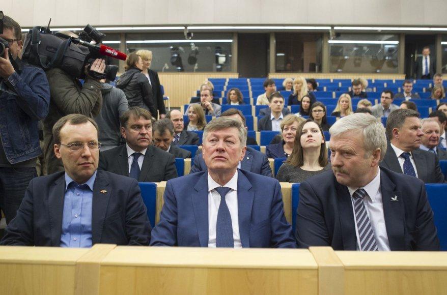 Naglis Puteikis, Artūras Paulauskas ir Bronius Ropė