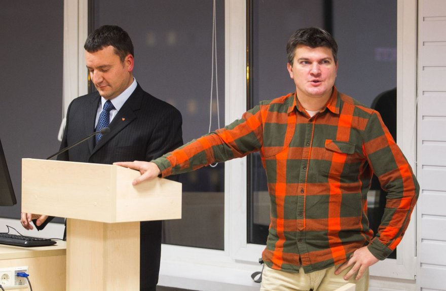 Tomas Čeponis ir Aurimas Navys