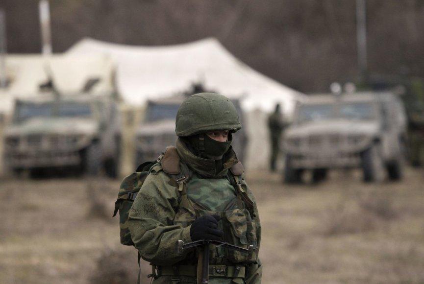 Rusijos karys Simferopolyje