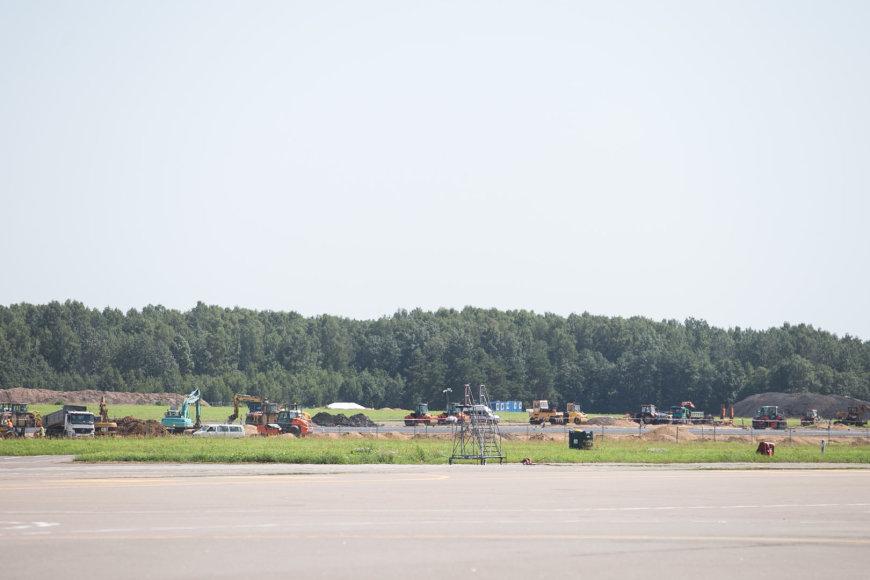 Vilniaus oro uosto pakilimo tako rekonstrukcijos darbai