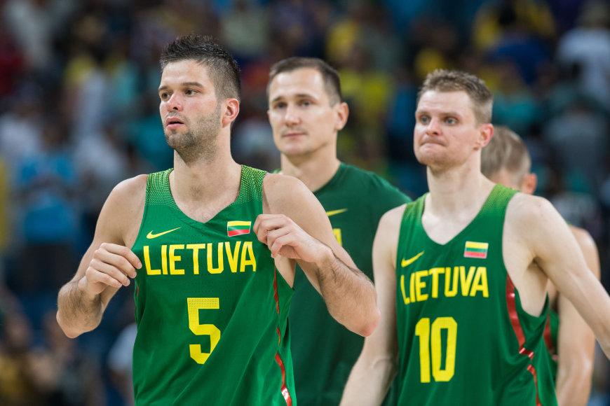 Mantas Kalnietis, Paulius Jankūnas ir Renaldas Seibutis