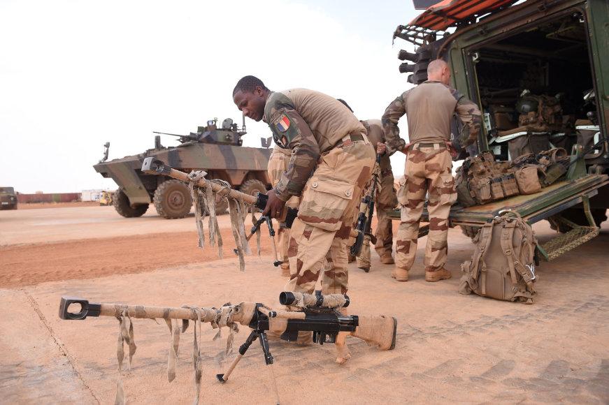 Prancūzijos kariai Sahelio regione