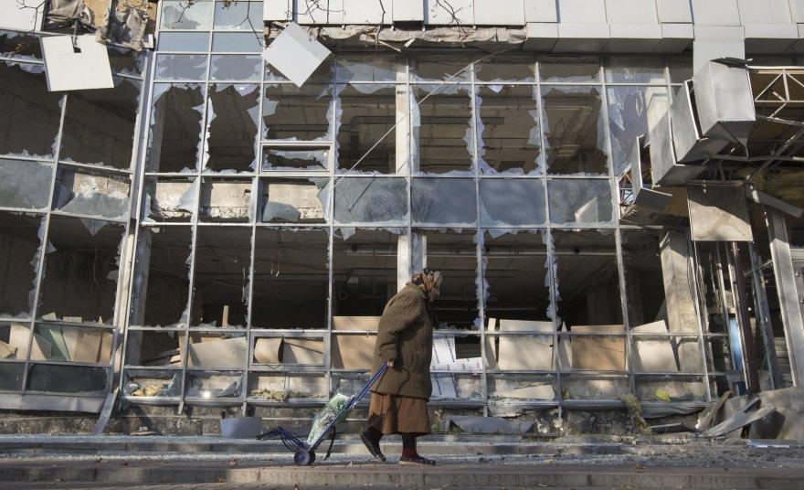 Karo nuniokotas Doneckas