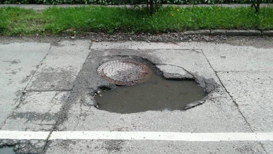 Smegduobė Kauno J.Borutos gatvėje