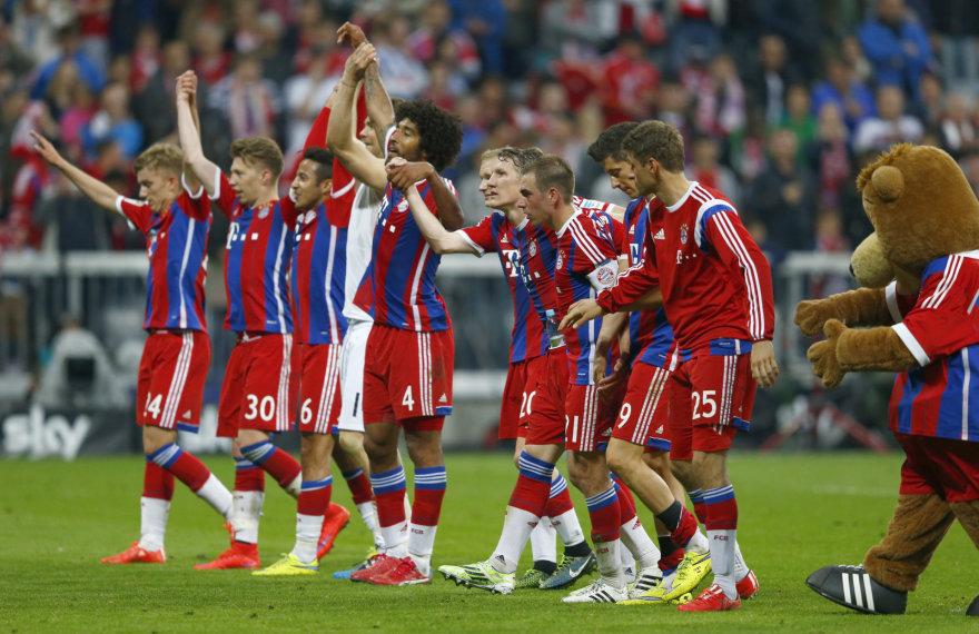 """Bayern"" jau beveik Bundelygos čempionai"