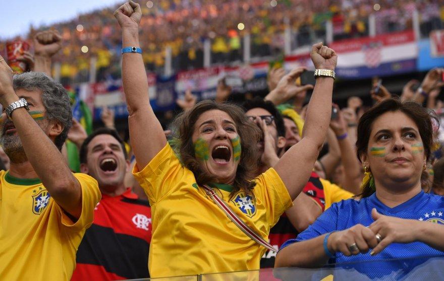 Brazilijos futbolo sirgaliai